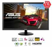 Asus 21.5 VP228HE LED MM Monitör 1ms Siyah  WIDE, 1920x1080,VGA,HDMI,Multimedya,Vesa